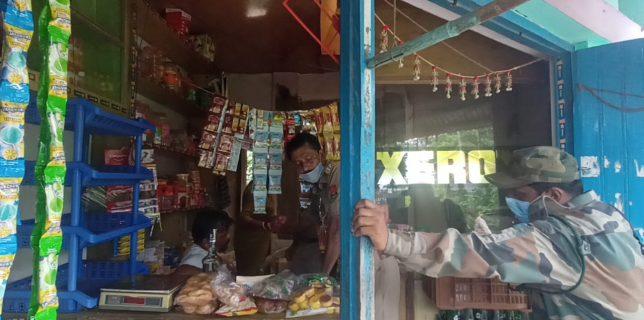 নেশাকারবারীদের বাড়ি ও দোকানে তল্লাসীতে পুলিশের নিস্ফলা অভিযান